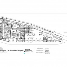 Dr. L.H.Hiranandani Hospital – Basement-Floor-Plan