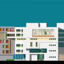 Haji Ali Children's Hospital – North-Elevation