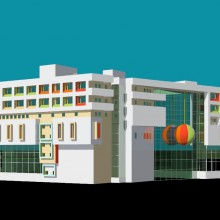 Haji Ali Children's Hospital –  Perspective-View